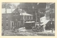 Rockland, Thomaston and Camden St. Ry. Express and Mail Car at Camden, ca. 1910