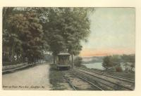 View upriver, Main Avenue, Gardiner, ca. 1910