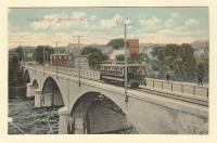 Trolley Bridge, Waterville, ca. 1913