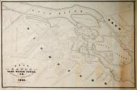 Plan of Lands of Saco Water Power Co. at Saco & Biddeford, 1848