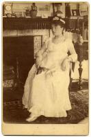 Mary King Longfellow as Nelly Custis, Cambridge, ca. 1879