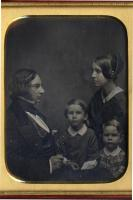Henry, Frances, Charles and Ernest Longfellow, 1849