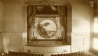 City Opera House stage, Biddeford, ca. 1890