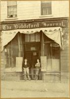 Biddeford Journal Office, ca. 1899