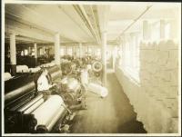 Finisher pickers, Pepperell Mills, Biddeford, ca. 1925