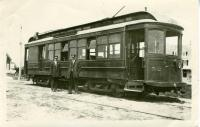 Atlantic Shore Railway Trolley, Cape Porpoise, 1915