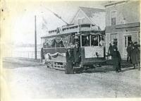 Rose Seavey Trolley Trip, Kennebunkport, 1901