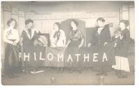 Philomatheon Club, Westbrook Seminary, ca. 1911