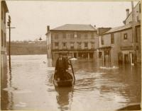 Hallowell Flood 1896