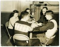 Youth radio panel, 1953