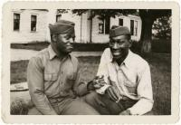 Soldiers, North Yarmouth, 1942