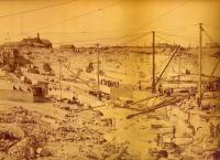 Hains Ledge Quarry, Lithgow Hill, Hallowell, ca. 1890