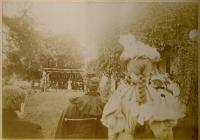 Garden Entertainment, Blue Hill, ca. 1896