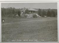 Parker Point Golf Club, Blue Hill, ca. 1912