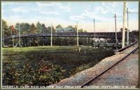 Trestle over B & M on the Old Orchard Division, ca. 1930