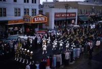 St. Athanasius Parochial School Marching Band in Sanford, 1955