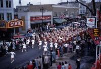 Sanford High School Band, Western Maine Music Festival, Sanford, 1955