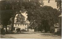 View of Downtown Blue Hill, ca. 1925