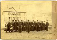 Biddeford High School Cadets, ca. 1890