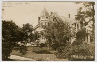 Robert Kelley residence, Lubec, ca. 1905