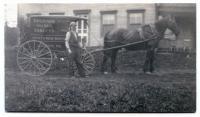 Genthner Brothers Peddlers Cart, Guilford, ca. 1900