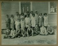 School children, Lubec, ca. 1934