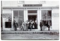 M. & J. Hudson Store, Guilford, ca. 1890