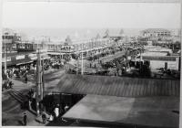 Old Orchard Street and Pier, Old Orchard Beach, ca. 1910