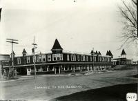 Entrance to the Pier, Old Orchard Beach, 1908
