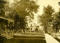 Street in Old Orchard Beach, ca. 1910