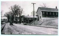 Water Street looking west, Guilford, ca. 1930