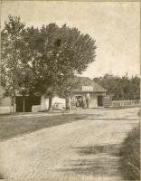 True's Blacksmith Shop, Cumberland, ca. 1880