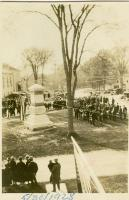 Dedication of William Merrill Monument, Cumberland, 1928