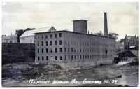 M.L. Hussey Woolen Company Mill, Guilford, 1918