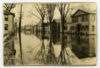 Lower Water Street, Hallowell, Flood of 1923