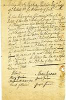 Petition regarding the will of Rishworth Jordan, Biddeford, 1808
