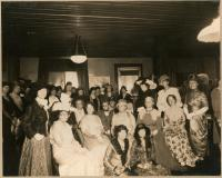 Thursday Club's New Year's Day party, Biddeford, 1930