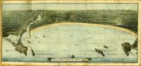 Balloon view of Saco Bay, including Biddeford Pool, ca. 1880