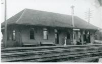 Scarboro Beach Railroad Station, 1909