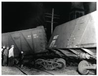 Train Wreck, Hallowell, 1937