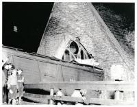 Train Wreck, Hubbard Free Library, Hallowell, 1937