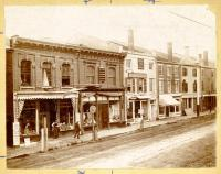 East Side Businesses, Water Street, Hallowell, ca. 1895