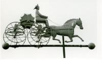 Firehouse Weather vane, Second Street, Hallowell, 1973