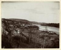 Sheppard's Point viewed from Loudon Hill, Hallowell, ca. 1895