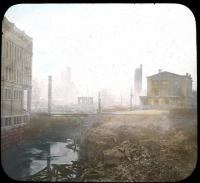 Norumbega Hall ruins, Bangor Fire, 1911