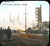 State Street ruins, Bangor, 1911