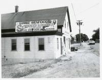 Retail seafood business, Lubec, 1983