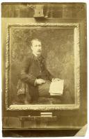 Alger V. Currier, Salon Portrait, Hallowell, 1888