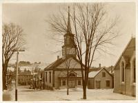 Universalist Church, Hallowell, ca. 1900