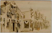 Centennial on Water Street, Lubec, 1911